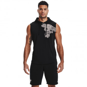 Men's UA Project Rock Terry Bull Sleeveless Hoodie