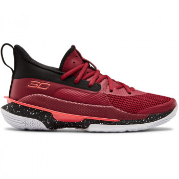Kids' UA Grade School Curry 7 Basketball Shoes