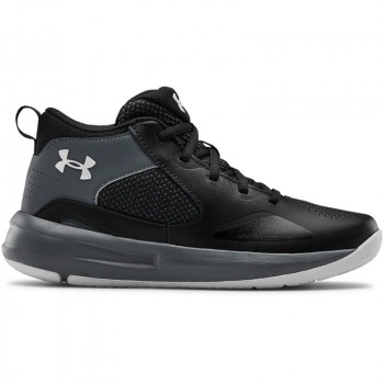 Kids's Grade School UA Lockdown 5 Basketball Shoes