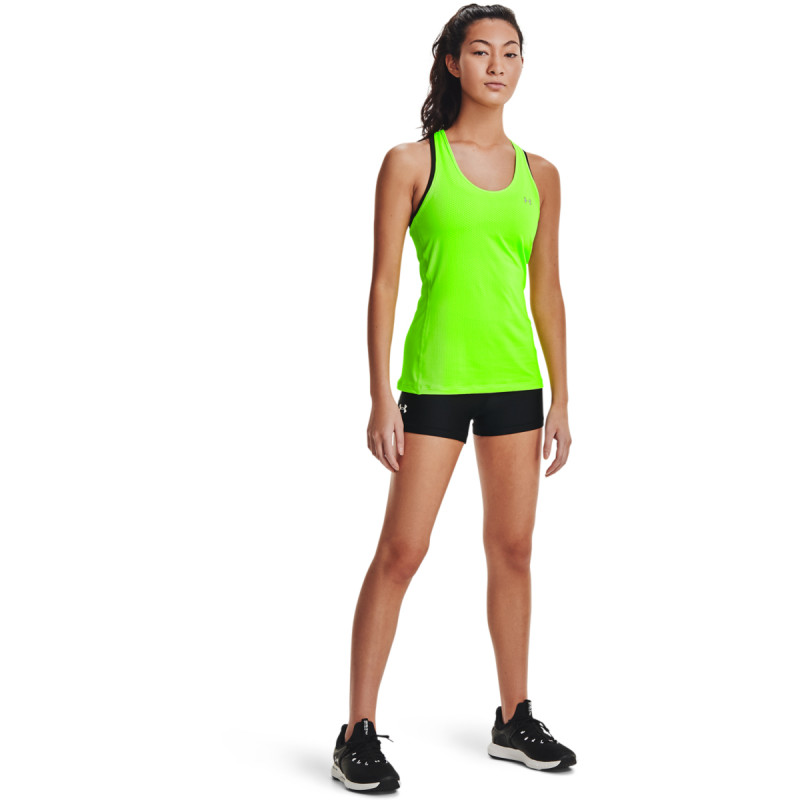 Women's UA HeatGear® Armour Mid-Rise Shorty