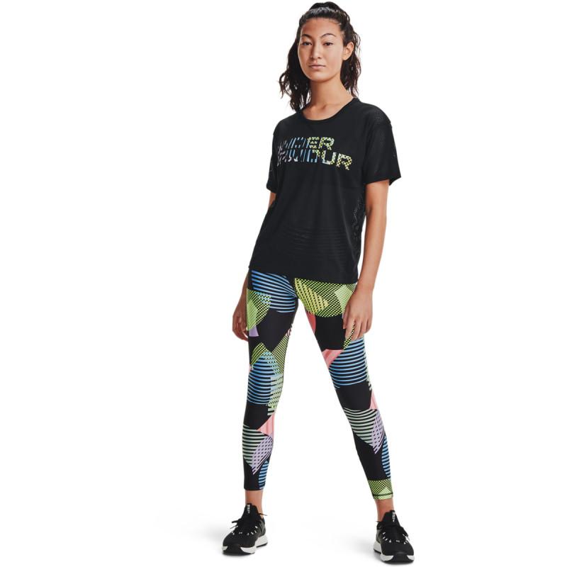 Women's UA HeatGear Armour Geo Print 7/8 Leggings