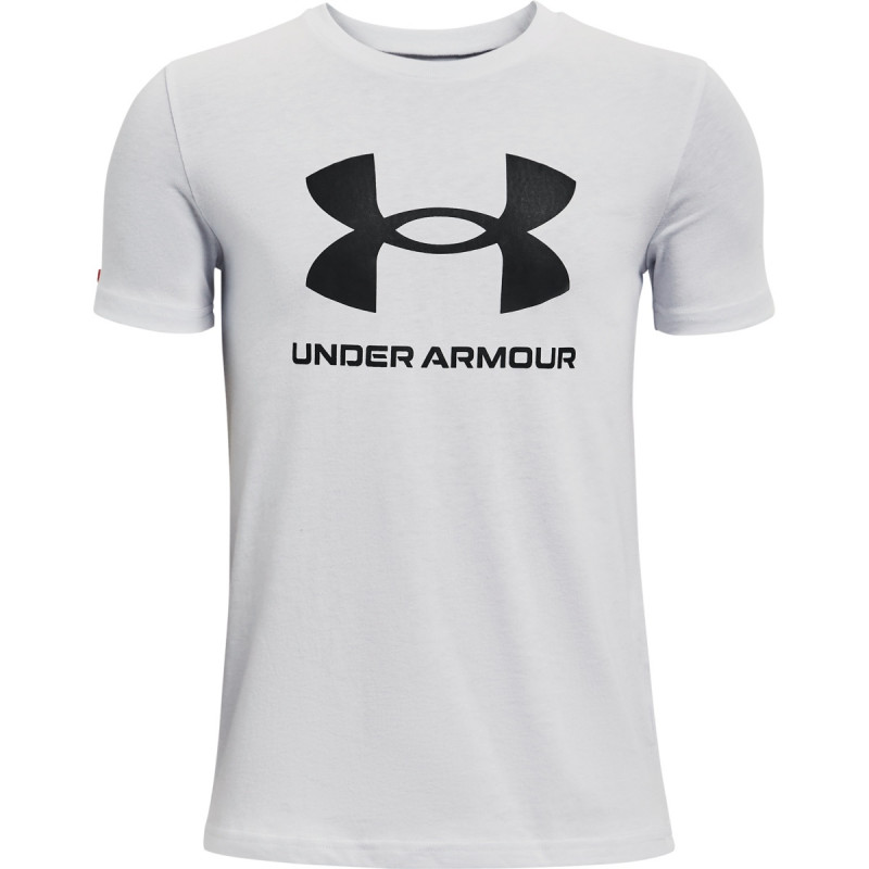 Boy' UA Sportstyle Logo Short Sleeve